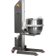 Trolley lifter for pastry mixers bowls