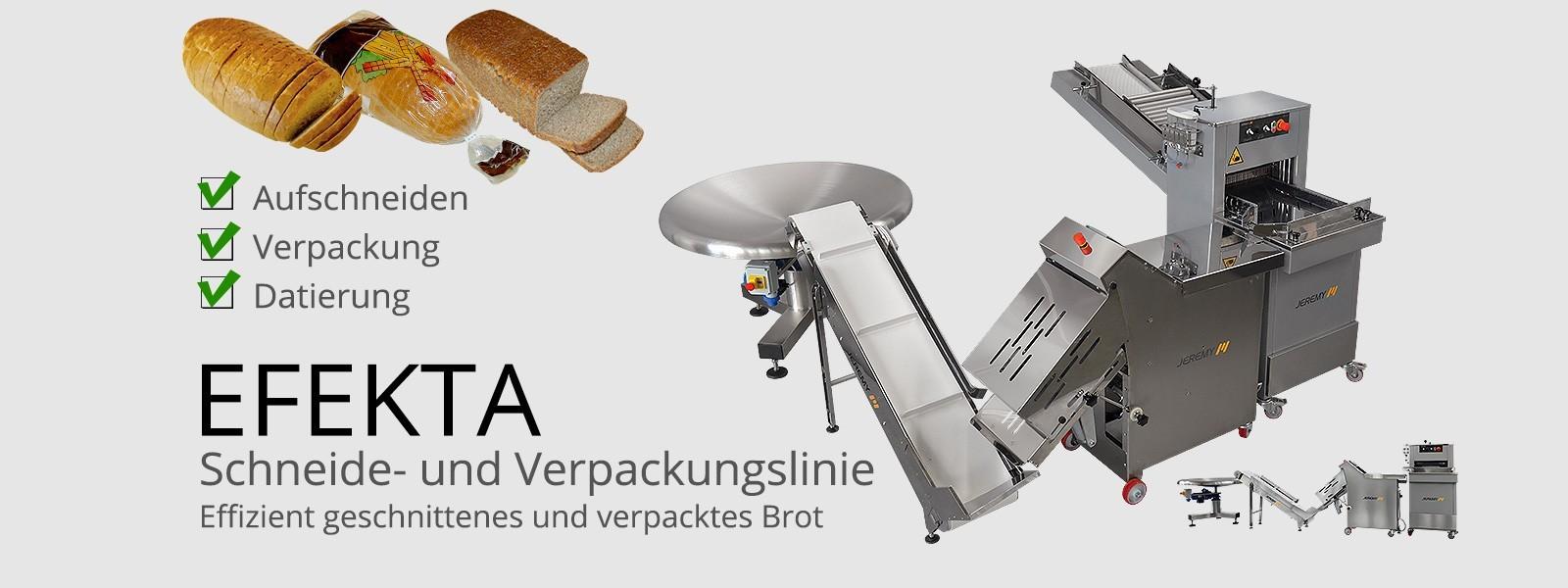 Schneide- und Verpackungslinie EFEKTA